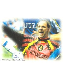 Chelsea card of 1999 featuring Ed De Goey