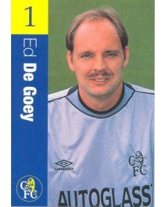 Chelsea - Ed De Goey official Chelsea card