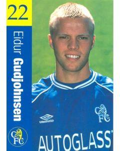 Chelsea - Eidur Gudjohnsen official Chelsea card