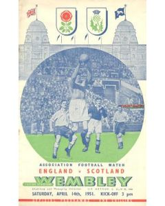 1951 England v Scotland official programme 14/04/1951