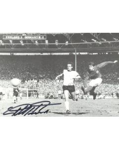 1966 World Cup Final Geoff Hurst Signed Photo
