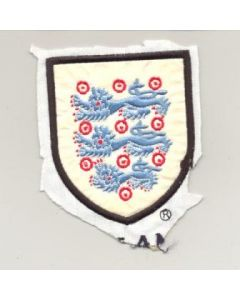 England embroidered badge in