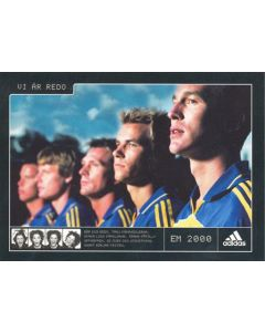Euro 2000 Intersport produced postcard