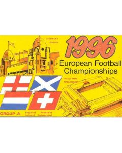 European Championship 1996 in England - Group A postcard