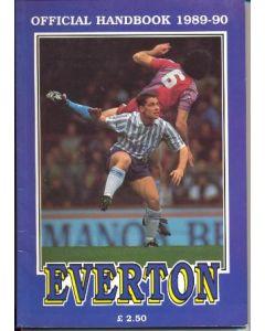Everton Official Handbook 1989-1990
