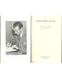 Feet First Again book, by Stanley Matthews (Blackpool and England) 1952