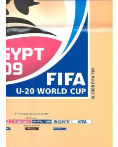 2009 FIFA U20 World Cup in Egypt poster