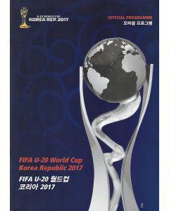 2017 Under 20 World Cup Final Programme