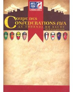 2003 Confederations Cup in France from 18th to 29th June 2003 press pack