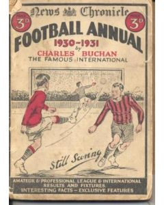 Football Annual 1930-1931 published by News Chronicle