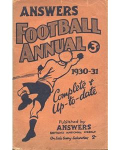Football Annual 1930-1931 published by Answers