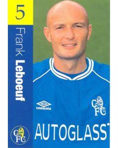 Chelsea - Frank Leboeuf official Chelsea card