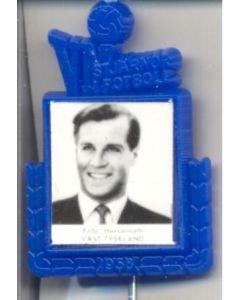 Fritz Herkenrath W. Germany World Cup 1958 Badge Blue