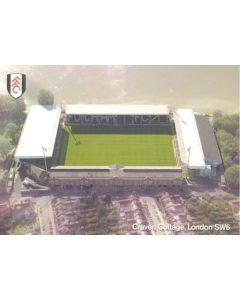 Fulham Craven Cottage Stadium postcard