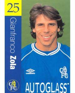 Chelsea - Gianfranco Zola official Chelsea card