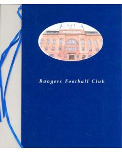 Glasgow Rangers v Paris Saint-Germain menu 21/11/2001