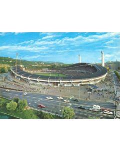 Goteborg Stadium colour postcard