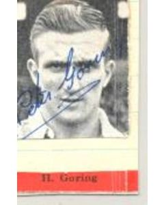H. Goring Signed Newspaper Cutting Photograph