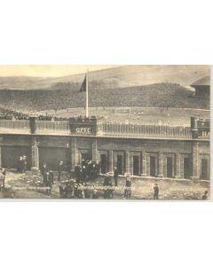 Hampden Park Stadium, Glasgow - International Football Match 1910 - podtcard
