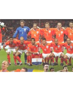 Holland v England poster in mint condition