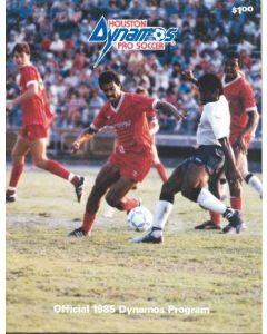 Houston Dynamos v Sheffield United official programme 1985