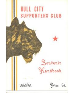 Hull City Supporters' Club Handbook 1960-1961