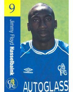 Chelsea - Jimmy Floyd Hasselbaink official Chelsea card