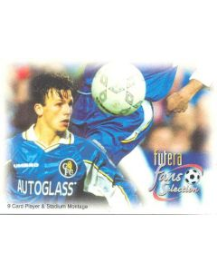 Chelsea card of 1999 featuring Jody Morris