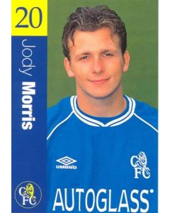 Chelsea - Jody Morris official Chelsea card