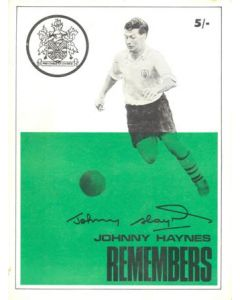 Johnny Haynes Remembers book with many photographs