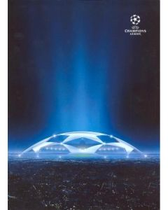 Juventus v Chelsea Champions League Final in Turin on 10/03/2009 Press Pack