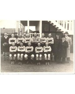 Kent County FA XI v All Stars XI 30/03/1940 charity match for the Red Cross