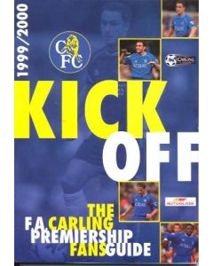1999-2000 Chelsea Kick Off - the FA Carling Premiership Fans' Guide 1999-2000