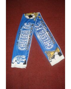 Chelsea scarf Cup Winners Cup Final Stockholm 13/05/1998