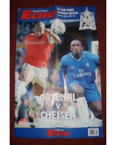 2002 FA Cup Final poster 04/05/2002