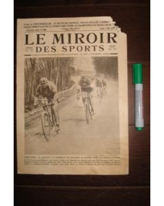 1923 Le Miroir Des Sports - French Magazine of 04/05/1923