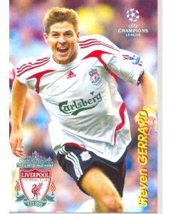 Liverpool - Steven Gerrard Russian produced postcard