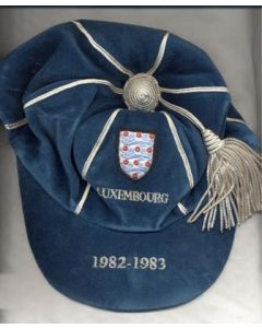 1982 England Cap v Luxembourg