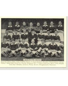 Manchester United team photograph