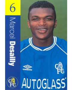 Chelsea - Marcel Desailly official Chelsea card
