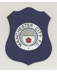 Manchester City embroidered badge