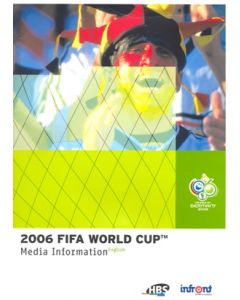 World Cup Germany 2006 Information Media Presspack for Broadcasters incl. CD