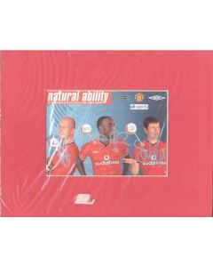 Natural Ability - Manchester United colour photograph with facsimile signatures on hard board