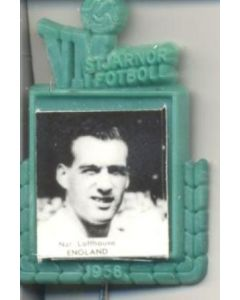 Nat Lofthouse England World Cup 1958 Badge