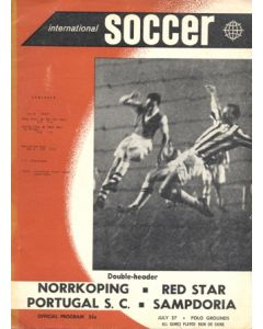In New York - Sporting Club de Portugal v Sampdoria and Norrkoping v Red Star