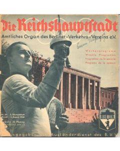 1936 Olympics brochure