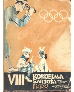 1936 A book of comics of 1938 about the Olympics in 1936