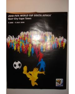 2010 World Cup South Africa Poster Host City Cape Town