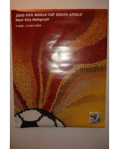2010 World Cup South Africa Poster Host City Nelspruit