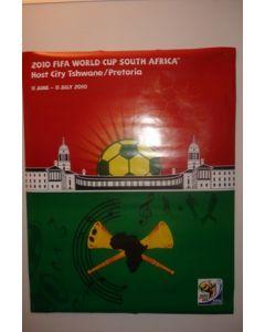 2010 World Cup South Africa Poster Host City Pretoria